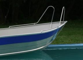 Nowe relingi dla łodzi aluminiowych Marine