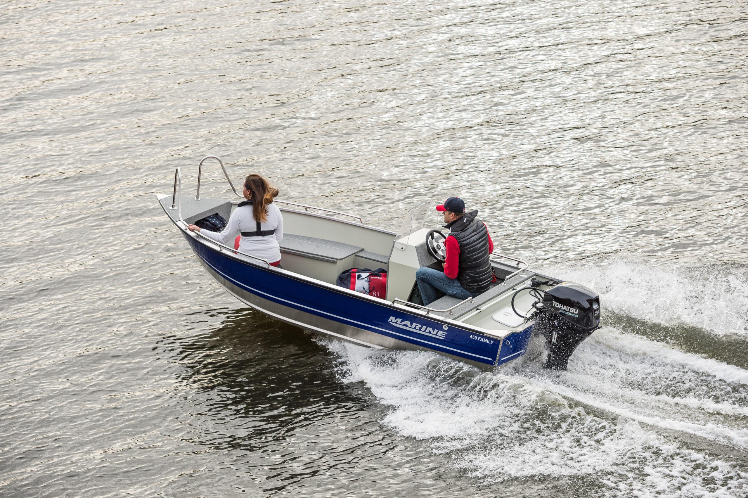 Nowa seria łodzi aluminiowych na rok 2018- Family