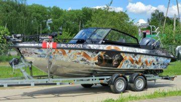Prezentacja łodzi aluminiowej UMS 655TT
